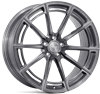 "20"" Ispiri FFR2 Full Brushed Carbon Titanium Alloy Wheels"