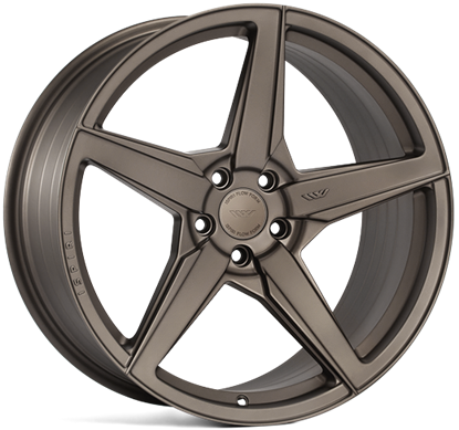 "20"" Ispiri FFR5 Matt Carbon Bronze Alloy Wheels"