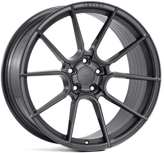 "19"" Ispiri FFR6 Carbon Graphite Alloy Wheels"