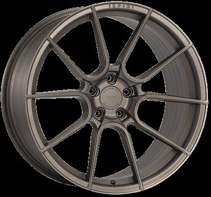 "19"" Ispiri FFR6 Matt Carbon Bronze Alloy Wheels"
