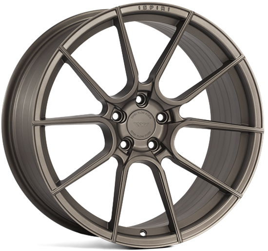 "19"" Ispiri FFR6 Matt Carbon Bronze Alloy Wheels"