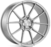 "20"" Ispiri FFR6 Pure Silver Alloy Wheels"