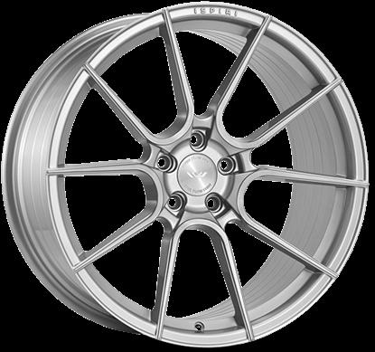 """20"""" Ispiri FFR6 Pure Silver Alloy Wheels"""