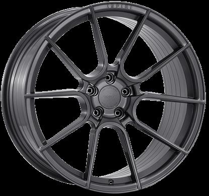 "21"" Ispiri FFR6 Carbon Graphite Alloy Wheels"