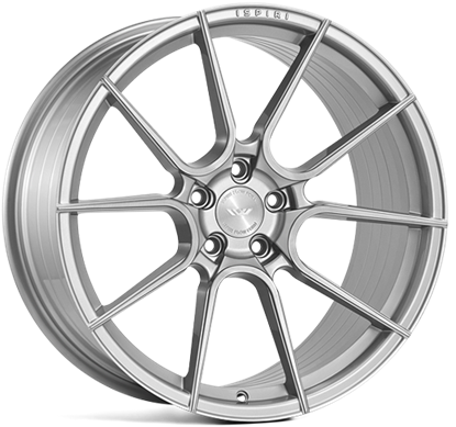"21"" Ispiri FFR6 Pure Silver Alloy Wheels"