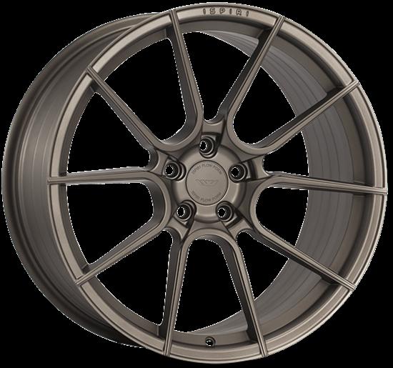 "21"" Ispiri FFR6 Matt Carbon Bronze Alloy Wheels"