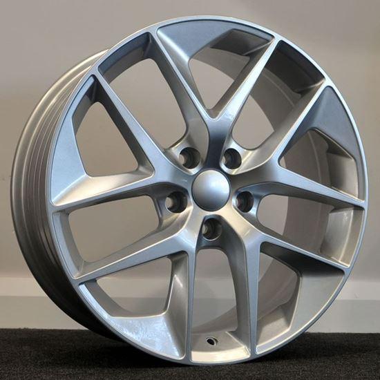 RAW FR Style Alloy Wheels - Silver