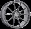"21"" Ispiri FFR6 Full Brushed Carbon Titanium Alloy Wheels"
