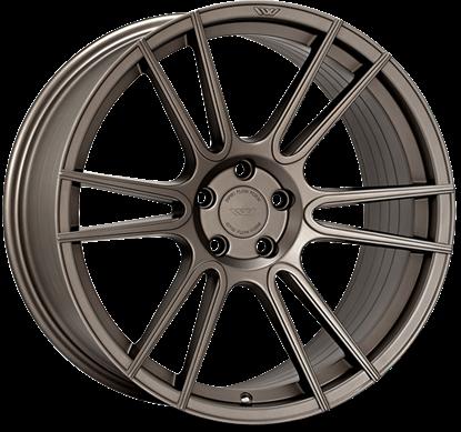 "20"" Ispiri FFR7 Full Brushed Carbon Titanium Alloy Wheels"