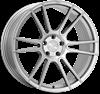 """20"""" Ispiri FFR7 Pure Silver Alloy Wheels"""
