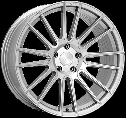 """20"""" Ispiri FFR8 Pure Silver Alloy Wheels"""