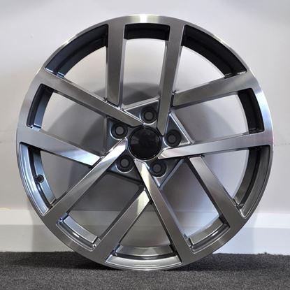 RAW 2017 R Line Style Alloy Wheels - Gunmetal