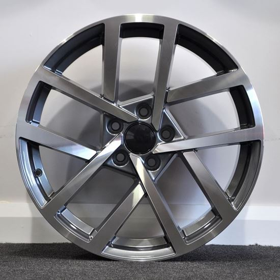 RAW 2017 R Line Style Alloy Wheels - Gunmetal
