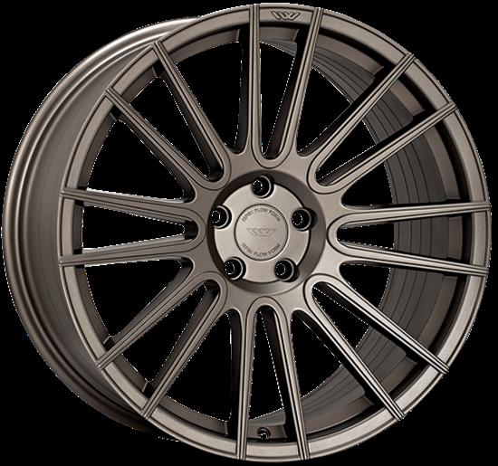 "20"" Ispiri FFR8 Matt Carbon Bronze Alloy Wheels"