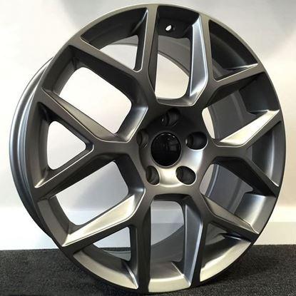 RAW Edition 35 Style Alloy Wheels - Gunmetal