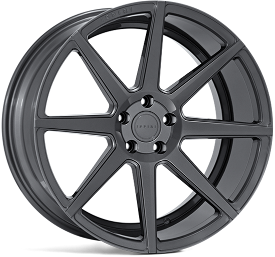 "19"" Ispiri ISR8 Carbon Graphite Alloy Wheels"