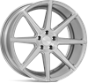 "19"" Ispiri ISR8 Pure Silver Alloy Wheels"