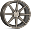 "19"" Ispiri ISR8 Matt Carbon Bronze Alloy Wheels"