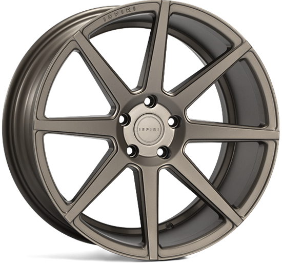 "20"" Ispiri ISR8 Matt Carbon Bronze Alloy Wheels"