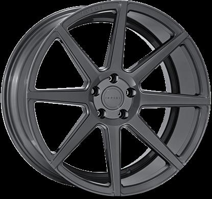 "20"" Ispiri ISR8 Carbon Graphite Alloy Wheels"