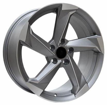 RAW A9 Style Alloy Wheels - Satin Gunmetal