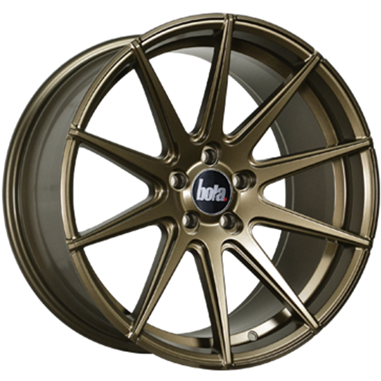 "19"" Bola CSR Matt Bronze Alloy Wheels"