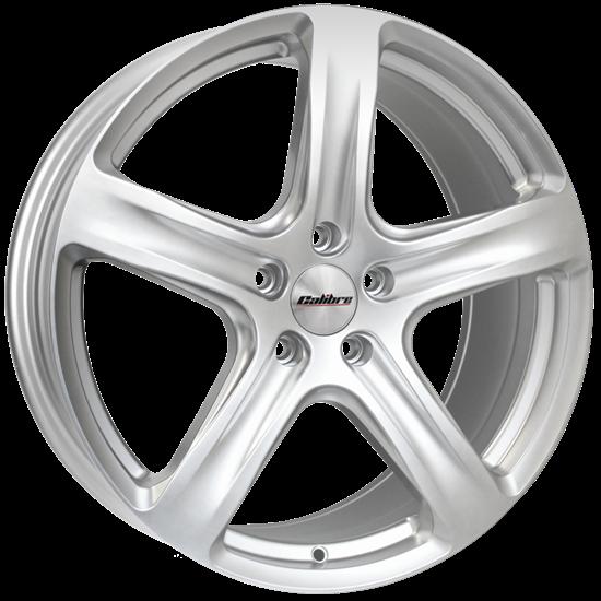 Calibre Tourer Style Alloy Wheels - Silver