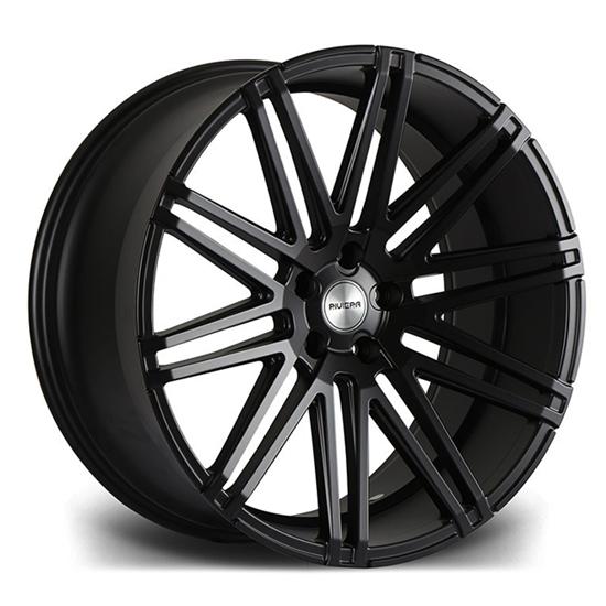"""22"""" Riviera RV120 Matt Black Alloy Wheels"""