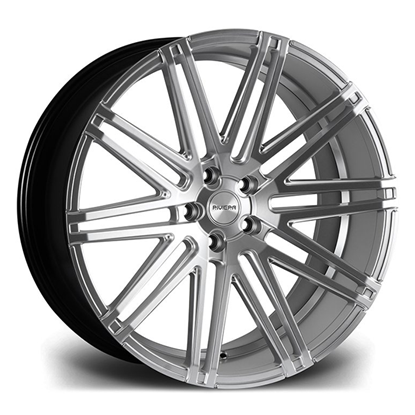 "22"" Riviera RV120 Hyper Silver Alloy Wheels"