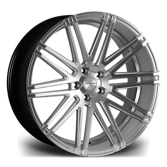 "22"" Riviera RV120 Hyper Silver Alloy Wheels"