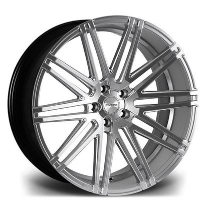 "22"" Riviera RV126 Silver Brushed Alloy Wheels"