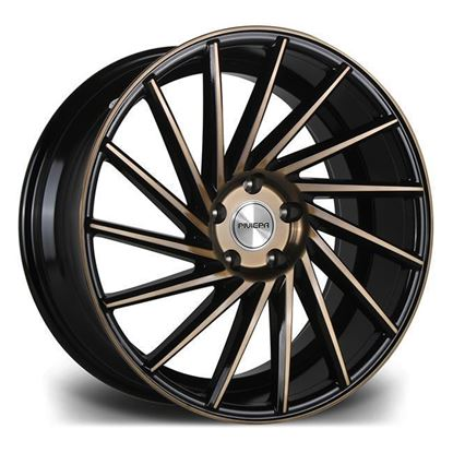 "20"" Riviera RV135 Black Bronze Alloy Wheels"