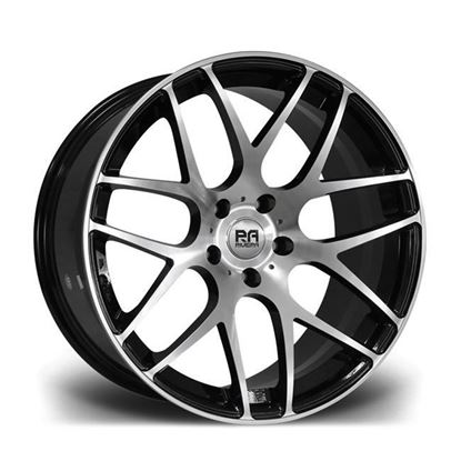 "19"" Riviera RV170 Gloss Black Polished Alloy Wheels"