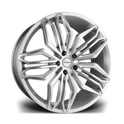 "22"" Riviera RV180 Hyper Silver Alloy Wheels"