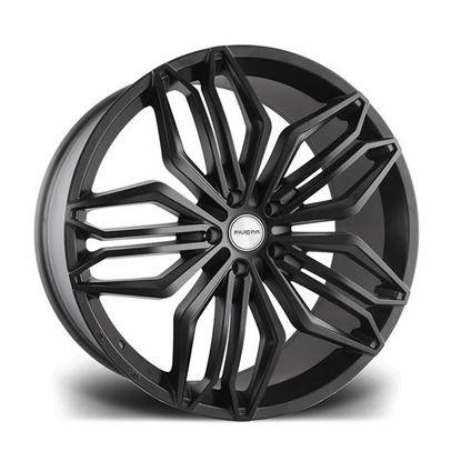"""22"""" Riviera RV180 Matt Black Alloy Wheels"""