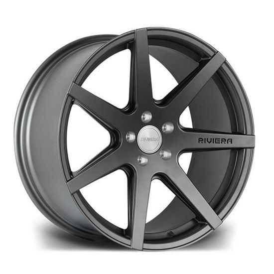 "19"" Riviera RV177 Matt Gun Metal Alloy Wheels"
