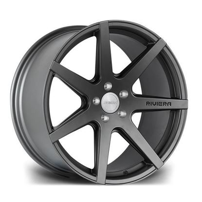 "20"" Riviera RV177 Matt Gun Metal Alloy Wheels"