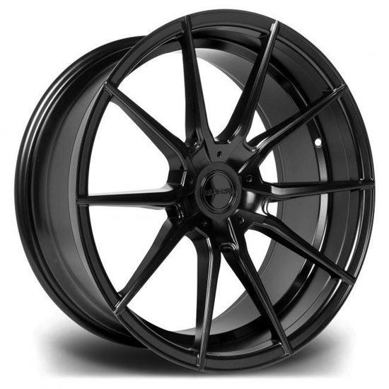 """19"""" Riviera RV193 Matt Black Alloy Wheels"""