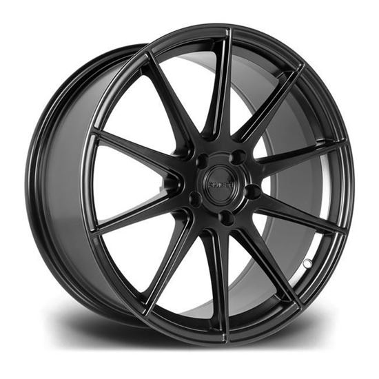"19"" Riviera RV194 Matt Black Alloy Wheels"