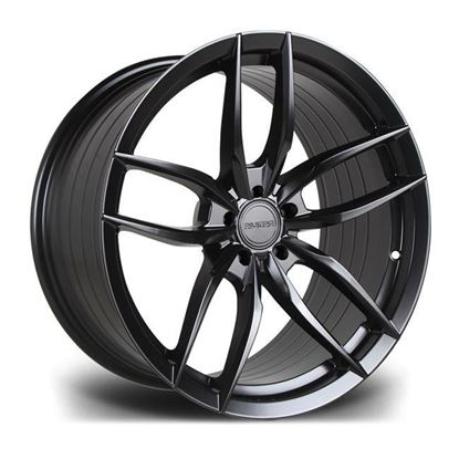 "19"" Riviera RV195 Matt Black Alloy Wheels"