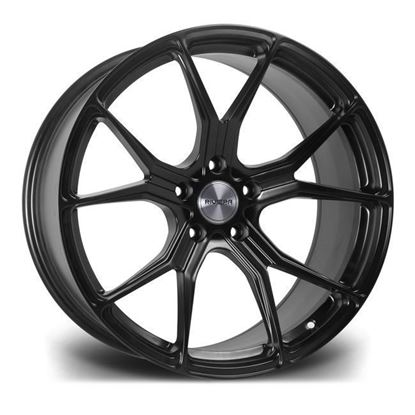 "19"" Riviera RV192 Matt Black Alloy Wheels"