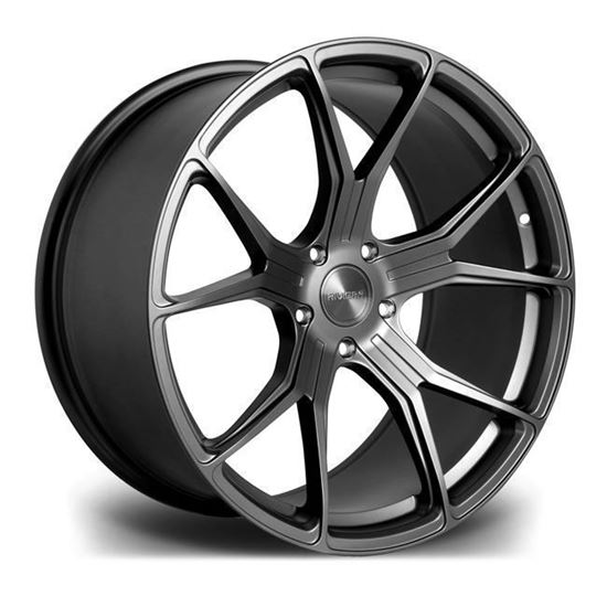 "19"" Riviera RV192 Matt Gun Metal Alloy Wheels"