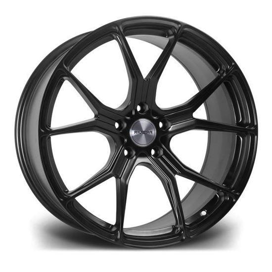 """20"""" Riviera RV192 Matt Black Alloy Wheels"""