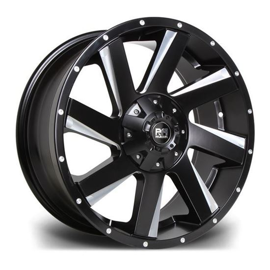 "17"" Riviera RX100 Black Polished Alloy Wheels"