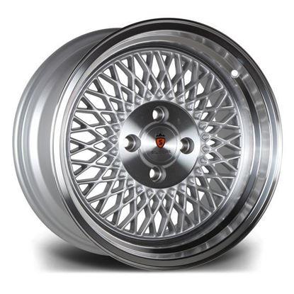 "16"" Stuttgart ST1 Silver Polished Lip Alloy Wheels"