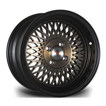 """16"""" Stuttgart ST1 Black Bronze Alloy Wheels"""
