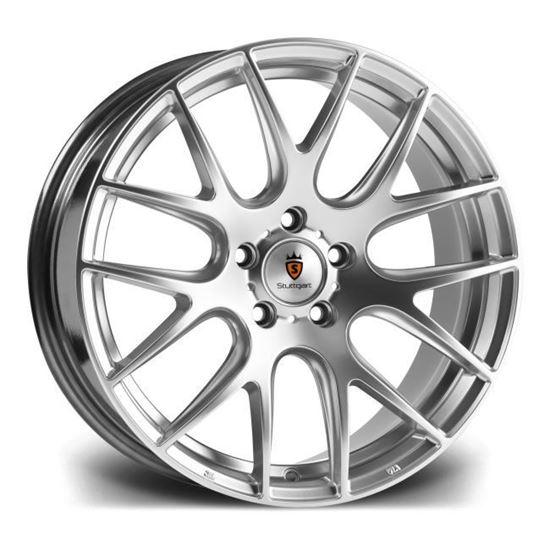 "18"" Stuttgart ST3 Hyper Silver Alloy Wheels"