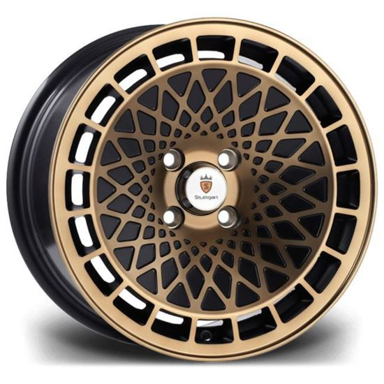"15"" Stuttgart ST7 Black Bronze Alloy Wheels"