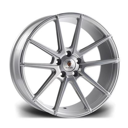 "19"" Stuttgart ST9 Silver Polished Alloy Wheels"
