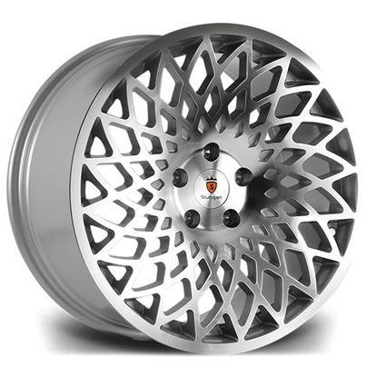"18"" Stuttgart STX Silver Polished Alloy Wheels"